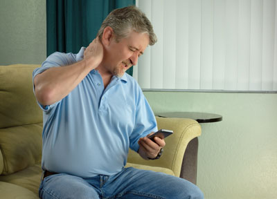 text neck pain treatment